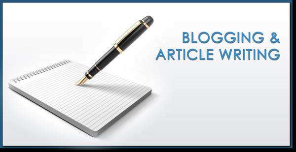 Blogging & Article Writing Training