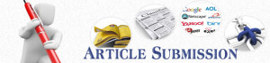 Article Submission through SEO