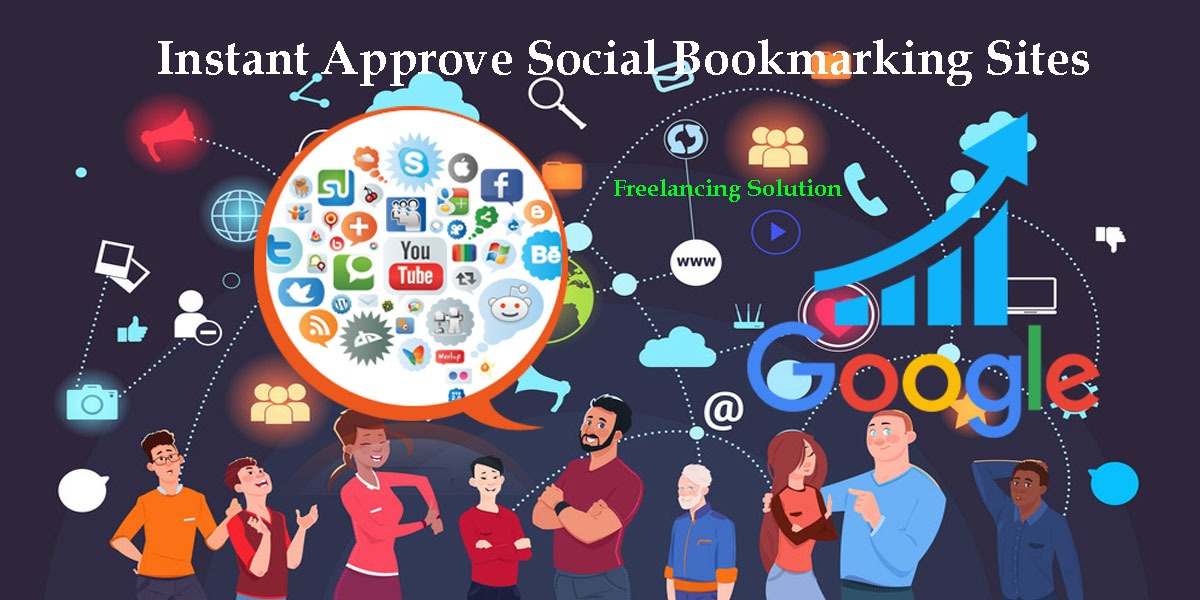 Instant Approve Social Bookmarking Sites