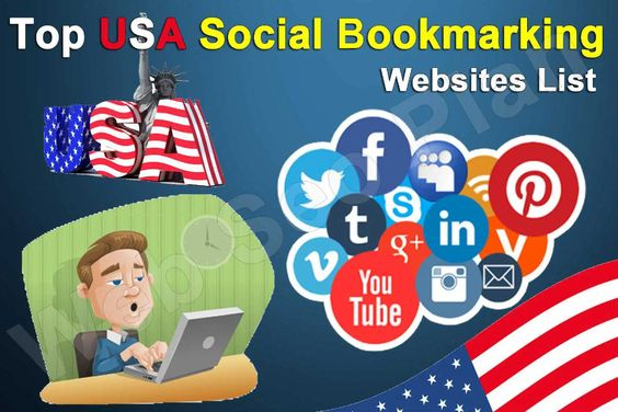 USA Social Bookmarking Sites List